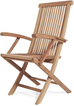 Arb Teak And Specialties Klipklap Folding Arm Chair