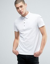 Brave Soul Military Sleeve Pique Polo