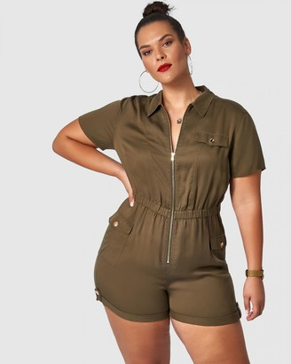 Sunday In The City Deeper Playsuit