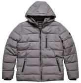 Burton Mens Grey Matrix Puffer Jacket