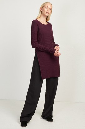 French Connection Relie Knits Split Side Tunic Dress