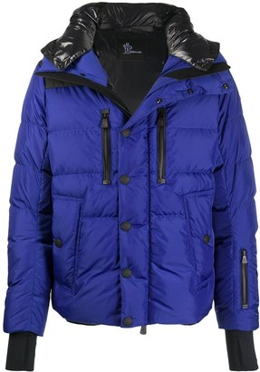 MONCLER GRENOBLE Hooded Padded Down Jacket