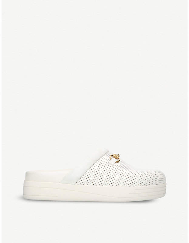 Gucci Majorca leather slippers