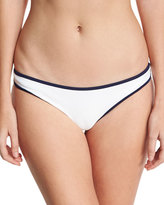 Heidi Klein St. Kitts Binding Hipster Swim Bottom, White