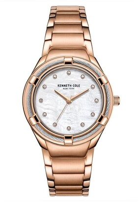 Kenneth Cole KC50981003 Classic Ladies Rose Gold
