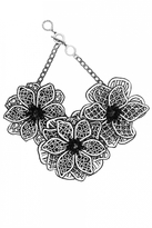 Forest of Chintz B Flower Necklace