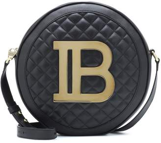 Balmain Disco quilted leather crossbody bag