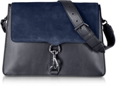 Rebecca Minkoff M.A.B. Moon Leather and Suede Large Shoulder Bag
