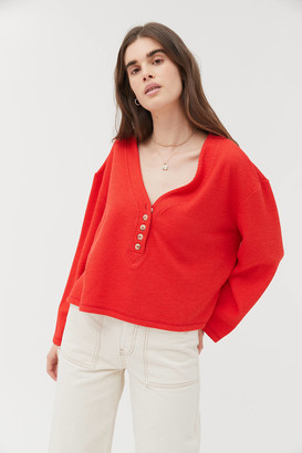 Urban Outfitters Clearwater Henley Top