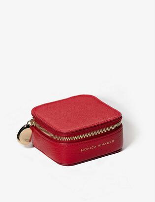 Monica Vinader Leather trinket box