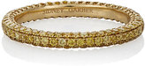 Sidney Garber Women's Yellow Diamond Thread Ring