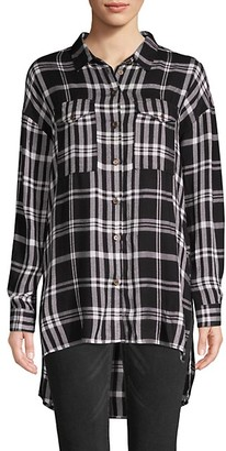 Jak & Rae Plaid Long-Sleeve Button-Down Shirt