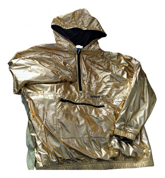 adidas Gold Synthetic Leather jackets