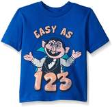 Sesame Street Toddler Boys Easy As 1-2-3 Short Sleeve Tee