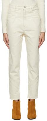 Isabel Marant Off-White Nadeloisa Jeans