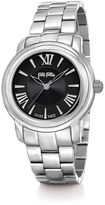 Folli Follie Moonlight silver and black watch