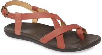 OluKai 'Upena' Flat Sandal