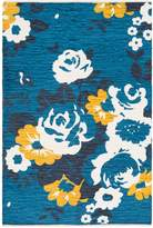 Artistic Weavers Elaine Carter Hand-Woven Cotton Bohemian Rug