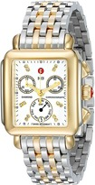 Michele Deco Diamond Two-Tone Stainless Steel Watch Watches