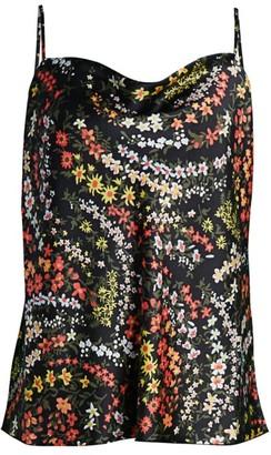 ATM Anthony Thomas Melillo Floral Silk Cami