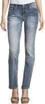 Miss Me Embellished Straight-Leg Jeans, Medium Dark 263
