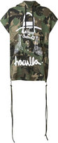 Haculla - camouflage print shortsleeved hoodie - men - Cotton - S