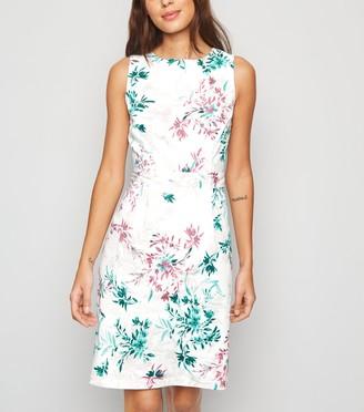 New Look Floral Poplin Mini Dress