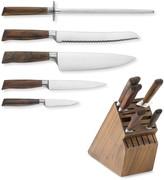 Messermeister Royale Elite Walnut 6-Piece Knife Block Set