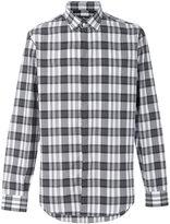 Salvatore Ferragamo madras check shirt
