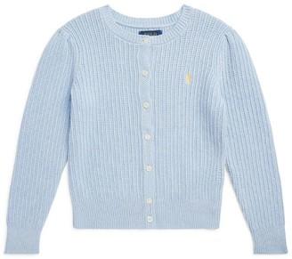 Ralph Lauren Kids Cotton Knit Cardigan (S-XL)