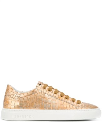 Hide&Jack Essence Tuscany embossed-effect sneakers