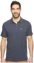 Vineyard Vines Open Feeder Stripe Polo Men's Short Sleeve Pullover
