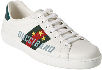 Gucci Band Ace Leather Sneaker