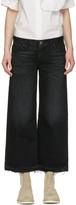 Simon Miller Black Bora Cropped Jeans