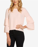 1 STATE 1.STATE Tiered-Sleeve Top