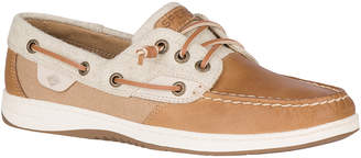 Sperry Top Sider Women's Boat Shoes LINEN - Linen Rosefish Leather Boat Shoe - Women