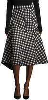 Aquilano Rimondi Checked Skirt