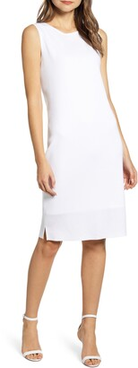 Ming Wang Sleeveless Shift Dress