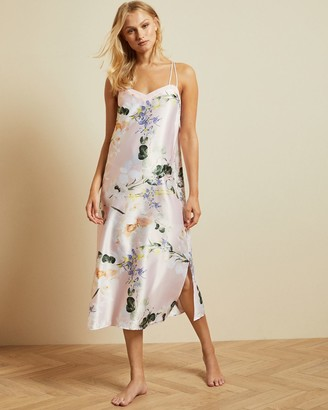 Ted Baker Elegant Strappy Midi Nightgown