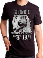 Goodie Two Sleeves Black Blondie 1977 Direct Tee - Men's Regular