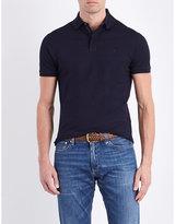 Ralph Lauren Purple Label Slim-fit Stretch-cotton Polo Shirt