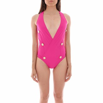 Balmain Double Breasted One-Piece Swimsuit