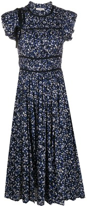 Ulla Johnson Amari floral print dress