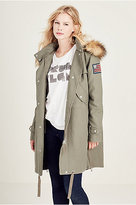 True Religion Womens Parka