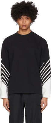 Minotaur Black and White Border Long Sleeve T-Shirt