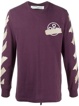Off-White Graphic Print Sweater