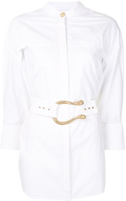 Acler Bastor belted shirt