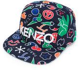 Kenzo logo cap - kids - Cotton - One Size
