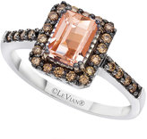 Le Vian Chocolatier Le Vian 14ct Vanilla Gold 1/4ct Diamond & Peach Ring