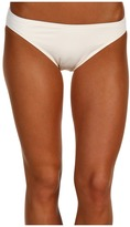 MICHAEL Michael Kors Classic Bikini Bottom (Cream) - Apparel